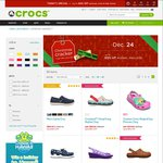 Crocs Up to 60% off – Free Delivery