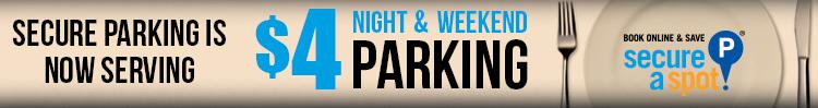 墨尔本CBD 晚上或周末 SecureParking 停车费只需A$4!