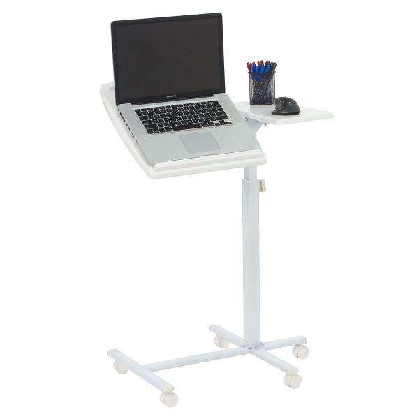 可移动、可升降、床边床上多功能笔记本电脑桌