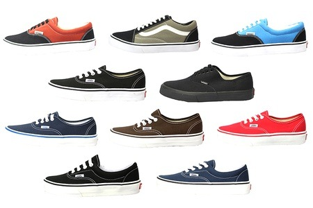 Vans 经典帆布鞋只需$34起!