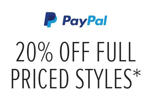 时尚服饰网站The Iconic全价商品消费99以上,使用Paypal付款可立减20%!