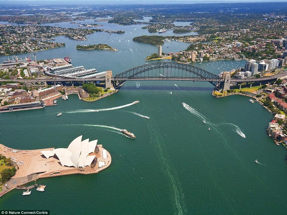 从天空中俯瞰那些世界上最漂亮的城市,然后发现它们变得更漂亮了!