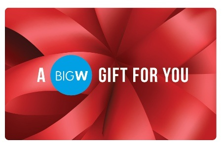 BigW 100或200的Gift Card 7.5%OFF!