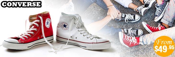 匡威 All Star 帆布鞋特卖 – 50%OFF!仅从$49.95起