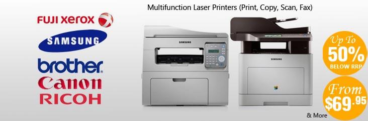 多功能单色激光打印机 最高折扣62%OFF!$69起!