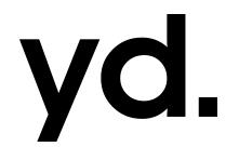 男装品牌YD. 正在进行的两个折扣活动
