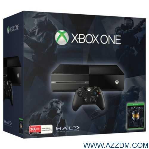 Xbox One 500GB 主机 + 手柄 + Halo,原价$499,折后$424.15!