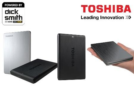 Toshiba 移动硬盘 $74 起!