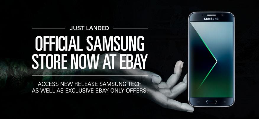 三星官方商店正式登陆Ebay