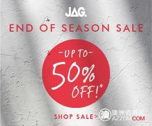 JAG 季末大减价 – 最高50% OFF!