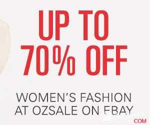 OZ Sale Ebay店,最高70% OFF!