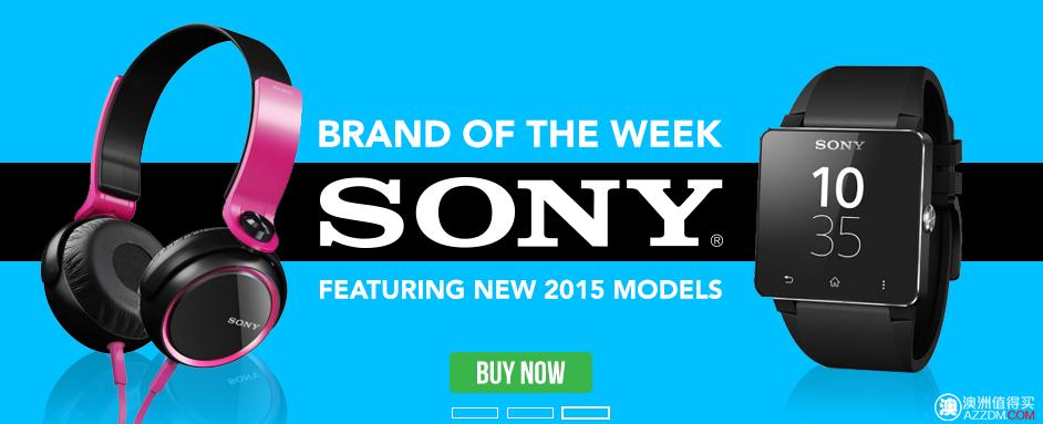 澳洲特卖网站OO.com.au 本周特卖品牌 —— Sony,多种商品特价