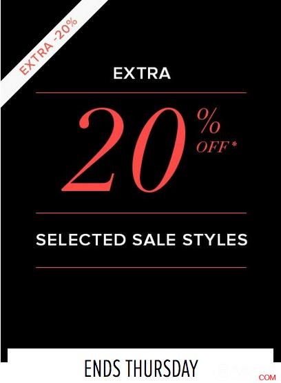 时尚服饰网站 The Iconic 部分打折商品可以享受20%OFF的折上折!