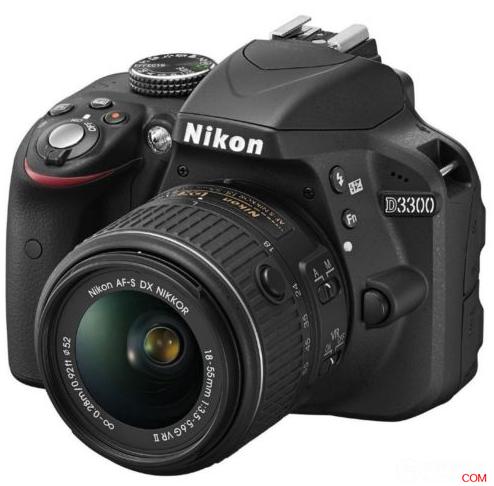尼康(Nikon) D3300 单反套机 黑色,原价$699,使用折扣码后可减30%