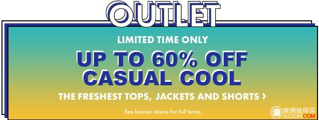 时尚服饰网站 ASOS 活动:部分商品最高60%OFF!