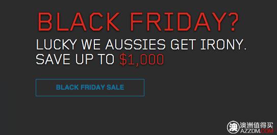 """联想澳洲官网""""黑色星期五""""活动:ThinkPad 系列笔记本电脑最高减$1000!"""