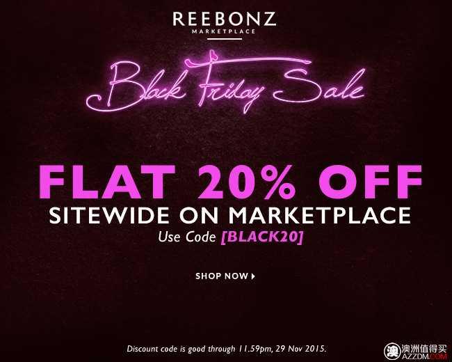奢侈品牌包包购物网站 Reebonz 活动:全网所有商品 20% OFF!