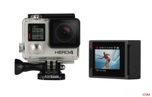 GoPro Hero4 银色运动相机,原价$499,使用折扣码后可减20%,只要$408!