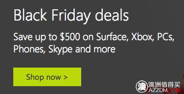 """微软官网""""黑色星期五""""活动:Surface Pro 3 最高减500刀!购买Surface 3 免费送键盘!"""