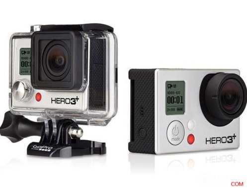 GoPro Hero3+ 黑色套装,只要$398!