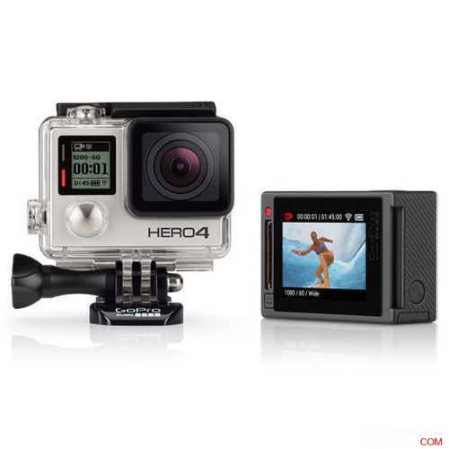 GoPro Hero 4 银色版,运动相机,原价$528.85,