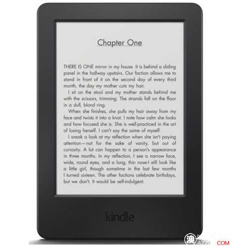 亚马逊 Kindle Touch 6″ Wi-Fi 4GB,黑色版,只要$119!