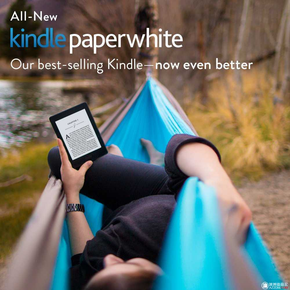 全新 Kindle Paperwhite, 6″ 高分辨率, Wi-Fi 版,原价US$139.99,现价US$119.99!