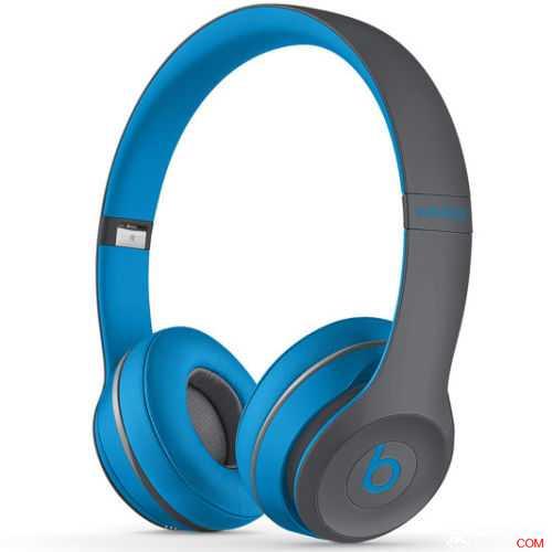 Beats Solo 2 Wireless 无线耳机,蓝色,原价$379