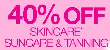 Priceline:Skincare、Suncare & Tanning 类商品40%OFF!