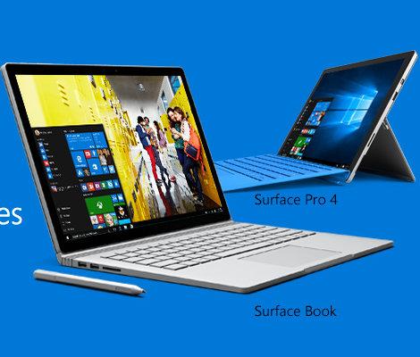 微软澳洲 学生购买Surface Book 及 Surface Pro 4 可减15%!