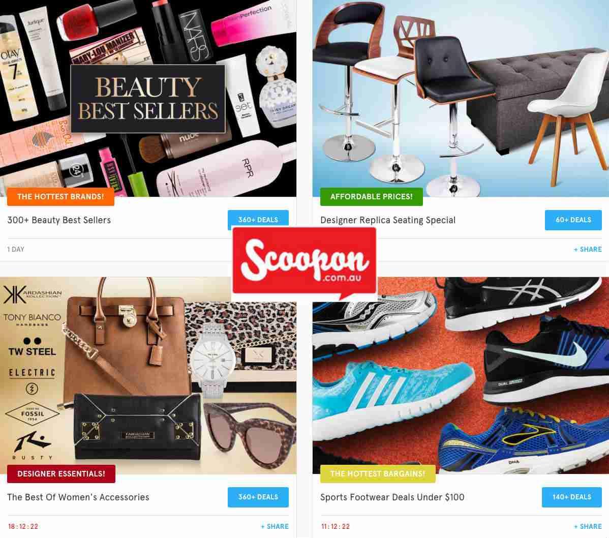 在团购网站 Scoopon 购物满$70,免邮费!