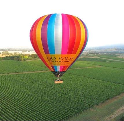 热气球飞行观光套餐 团购价只要$235!