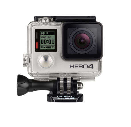GoPro Hero4 银色版运动摄影机 只要$519.99!