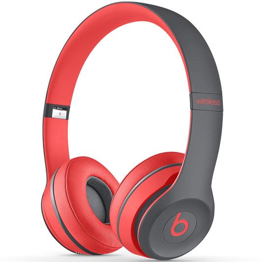 Beats Solo 2 Wireless 无线耳机 红色