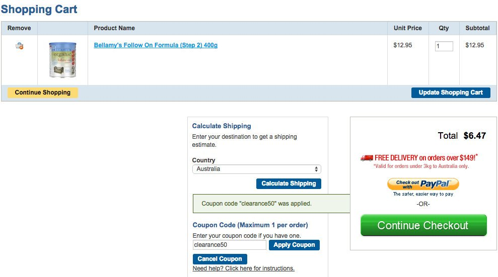 Pharmacy Online 特价商品