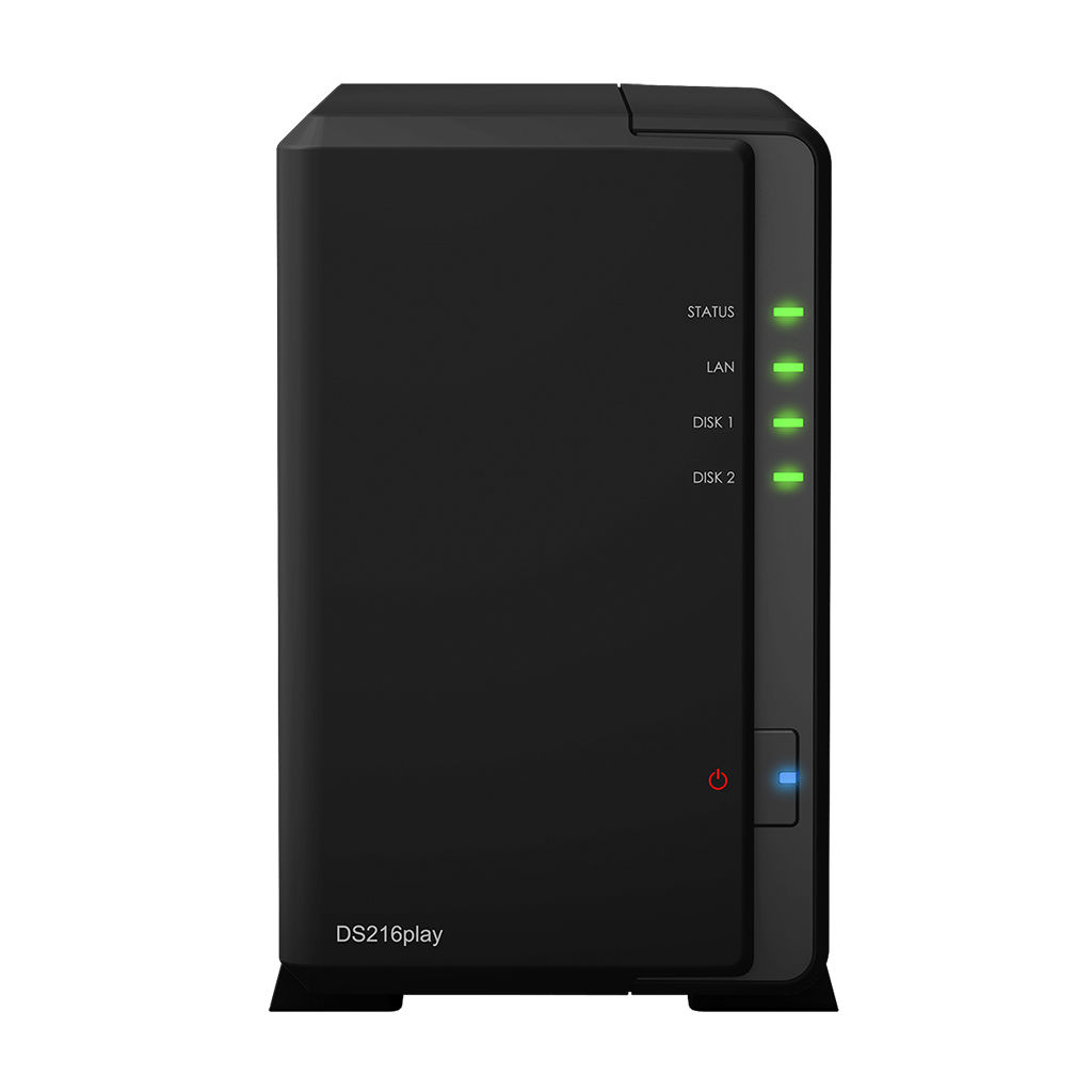 群晖 Synology DiskStation DS216play NAS