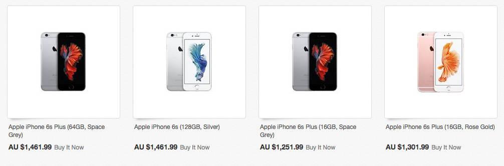 苹果 iPhone6s Plus 64GB 太空灰色