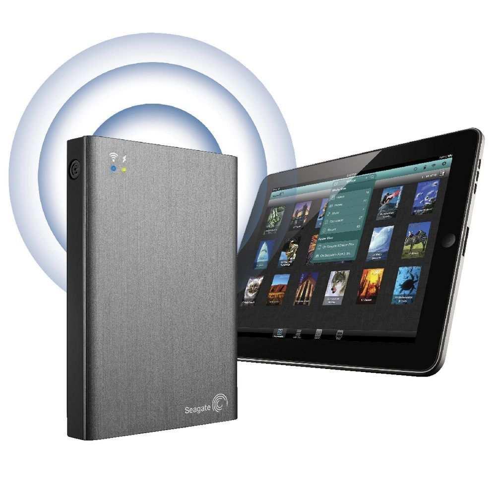 Seagate 希捷 2TB Wireless Plus 无线移动硬盘