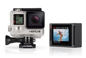 GoPro Hero4 运动相机 银色版 折后只要$409!