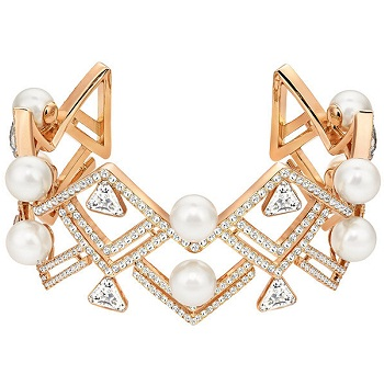 Swarovski 新款珍珠手镯 $399!