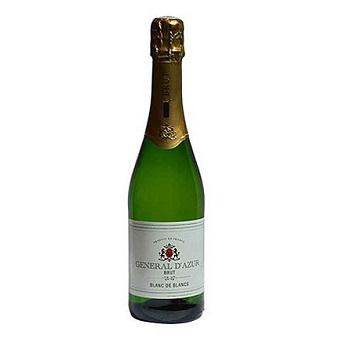 法国General D'Azur起泡白香槟酒!12瓶特价$99!