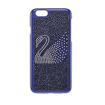 Swarovski 天鹅图案蓝色水晶手机保护壳$129!