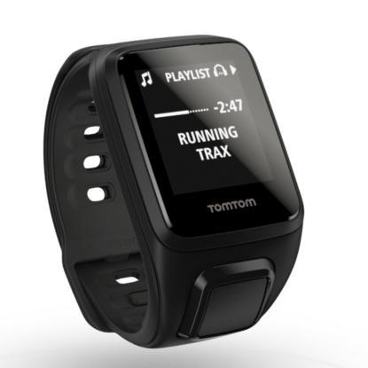 TomTom Spark Music + Cardio 光学心率GPS运动表 $349!