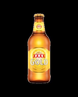 XXXX Gold 瓶装啤酒 24瓶装 只要$39.9!