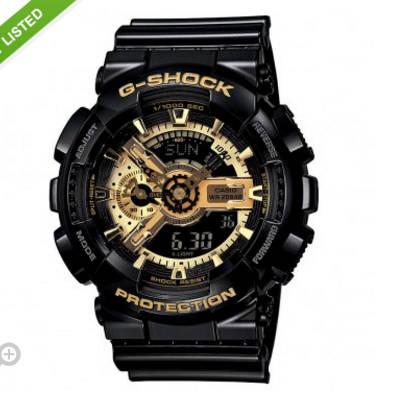 卡西欧 G-Shock GA110-1A 电子表 团购价只要$150!