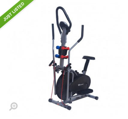 Workout Wiz 5合1 椭圆机 团购价只要$184!