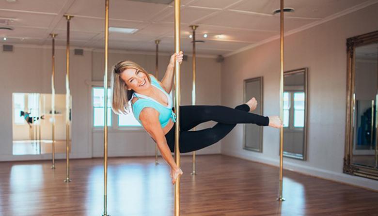 四周初级钢管舞课程 团购价$45 今天购买再减20% 只要$36!