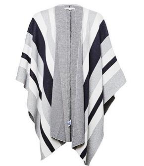 Stripe 针织斗篷  $19.50