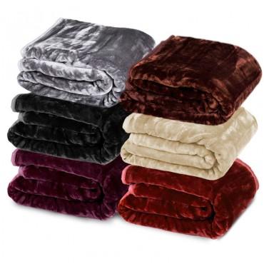 Mink Throw 貂绒毛毯 团购价只要$49!