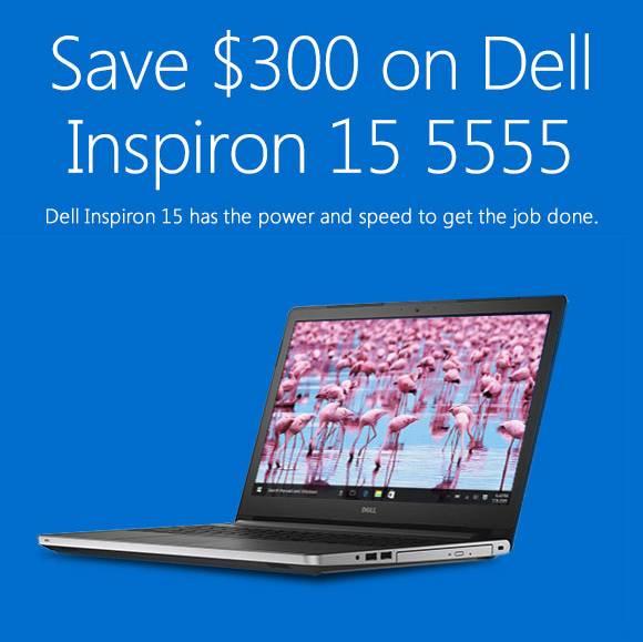 Dell Inspiron 15 8GB硬盘 1TB硬盘 只要$799!